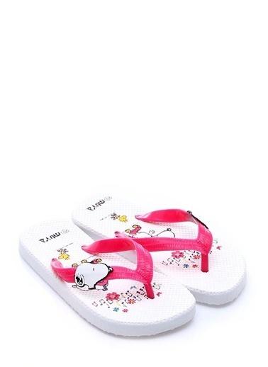 Snoopy Terlik Beyaz